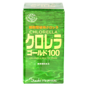 Хлорелла YUKI CHLORELLA GOLD 100