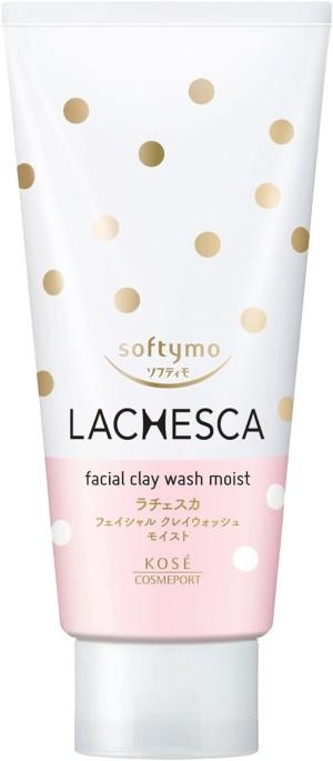Увлажняющий очищающий гель Kose Softymo Lachesca Clay Moist Wash