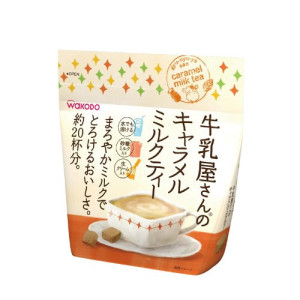 Молочный чай Wakodo Caramel Milk Tea с карамелью