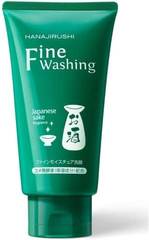 Пенка для умывания с саке HANAJIRUSHI Fine Washing Sake