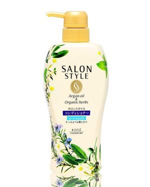 Кондиционер для волос с маслом арганы и натуральными экстрактами Kose Salon  Salon Style Conditioner
