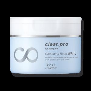 Очищающий бальзам для осветления кожи Kose Softymo Clear Pro White Cleansing Balm