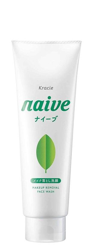 Пенка для умывания с экстрактом зеленого чая Kracie Naive Cleansing Foam