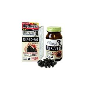 Комплекс для укрепления иммунитета с ферментированным чесноком Meiji Noguchi Black Garlic + Egg Yolk