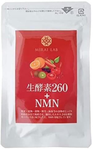 NMN + растительные ферменты Mirai Lab Raw Enzyme 260 + NMN