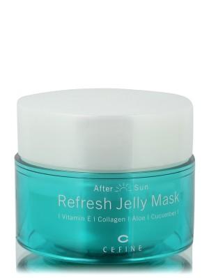 Освежающая маска-желе CEFINE REFRESH JELLY MASK