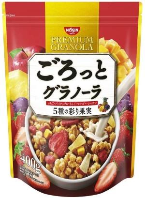 Гранола с фруктами и кленовым сиропом Nissin Cisco Granola Five Kinds Of Colorful Fruits