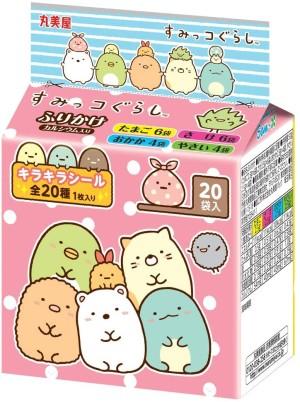 Ассорти из 4 видов фурикаке Marumiya Sumikko Furikake Mini Pack