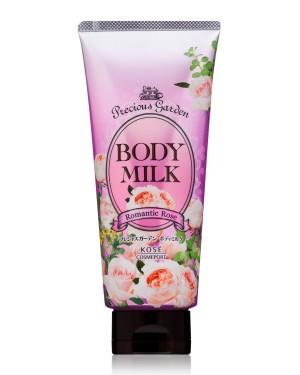 Молочко с маслами ши, жожоба и виноградных косточек Kose Precious Garden Body Milk