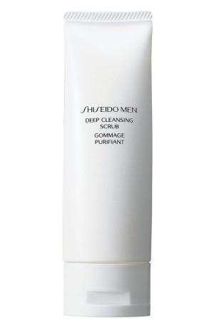 Мужской скраб для глубокой очистки лица Shiseido Men Deep Cleansing Scrub