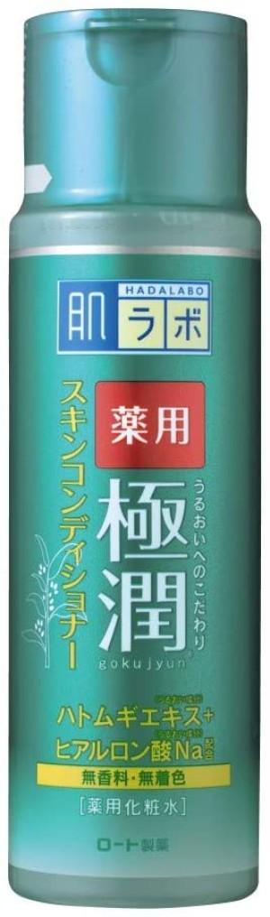 Лечебный лосьон для проблемной кожи Hada Labo Medicated Gokujyun Skin Conditioner