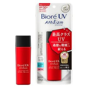 Солнцезащитное молочко Biore UV Athlizm Skin Protection Milk SPF50 + / PA ++++