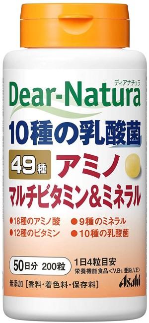 Комплекс из 49 витаминов и микроэлементов Asahi Dear-Natura Multi Vitamin & Minerals