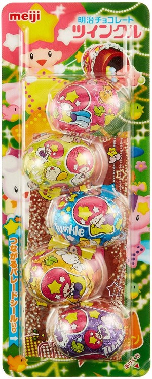 Шоколадные конфеты Meiji Twinkle