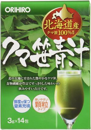 Зеленый сок с листьями бамбука Orihiro
