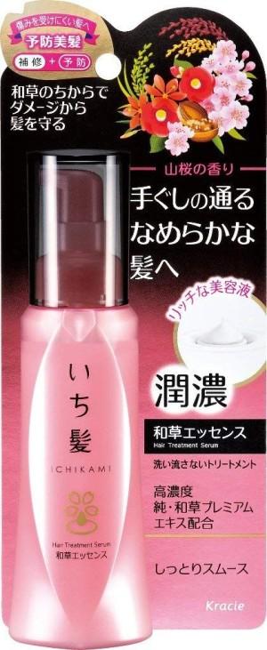 Увлажняющая эссенция для восстановления волос Kracie Ichikami Hanno Kazushi Essence