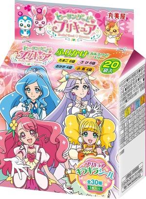 Ассорти из 4 видов фурикаке Marumiya Star Twinkle Precure Sprinkle Mini Pack