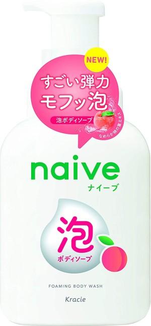 Пенка для душа Kracie Naive Foaming Body Wash