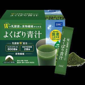Аодзиру для нормализации пищеварительных процессов DHC W Lactic Acid Bacteria & Dietary Fiber Green Juice