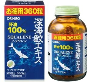 Сквален из печени акулы Orihiro на 60 дней