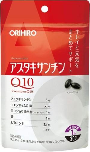 Антиоксидантный комплекс Orihiro Astaxanthin + Q10
