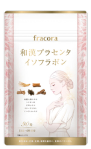Натуральный комплекс при нарушенном гормональном балансе Fracora Placenta + Isoflavone