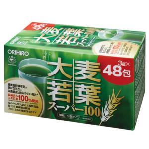 Зеленый напиток с листьями ячменя Orihiro Super 100