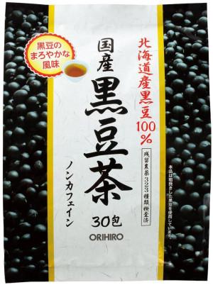 Черный соевый чай Orihiro Black Bean Tea 100%