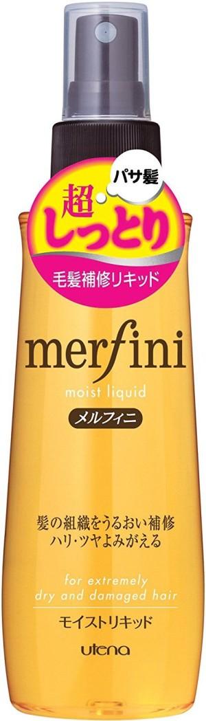 Увлажняющий мист для поврежденных и окрашенных волос Utena Merfini Moist Liquid