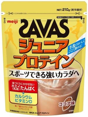 Протеиновый напиток с витаминами и минералами Meiji Savas Junior Protein Cocoa Flavor