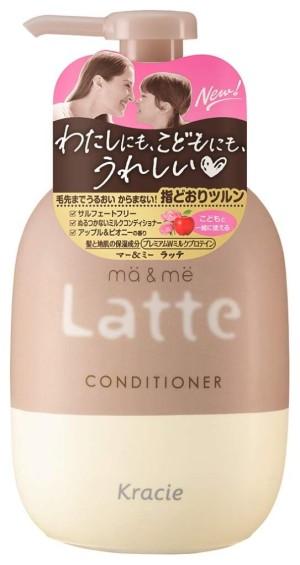 Бессульфатный кондиционер с протеинами для мамы и ребенка Kracie Ma & Me Latte Conditioner