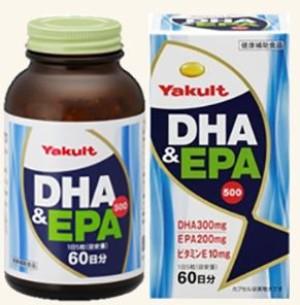 DHA и EPA для поддержания здоровья сердечно-сосудистой системы Yakult DHA & EPA