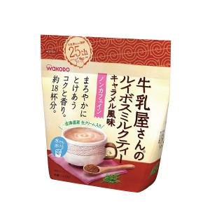 Чай ройбуш с карамелью и молоком Wakodo Caramel flavored Rooibos-tea & Milk