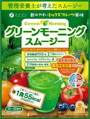 Диетический витаминный смузи Fine Japan Fine Green Morning Smoothie