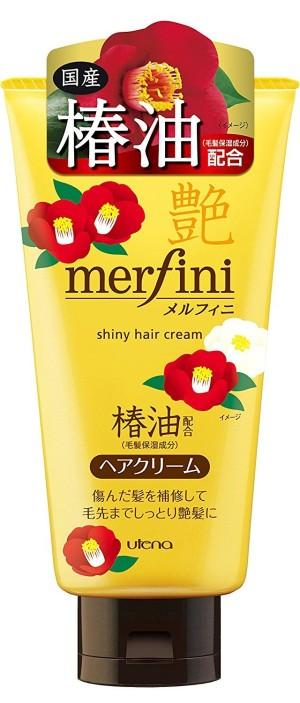 Крем для волос с маслом камелии Utena Merfini Shiny Hair Cream