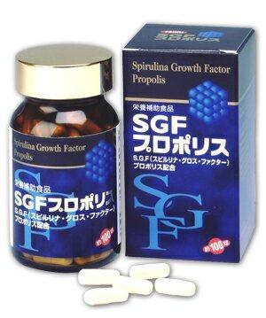 Иммуномодулирующий комплекс с прополисом и спирулиной Double Power Propolis & SGF