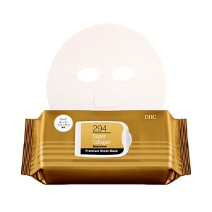 Увлажняющая маска с концентрированным коллагеном DHC Super Collagen Supreme Premium Sheet Mask