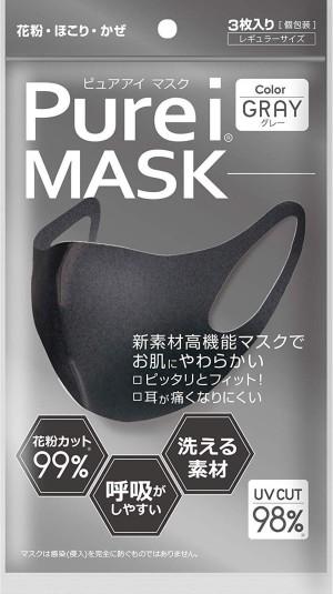 Многоразовая антибактериальная маска PUREI MASK