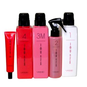 Комплекс Счастье для волос Lebel IAU Infinity Aurum Salon Care M для придания волосам гладкости