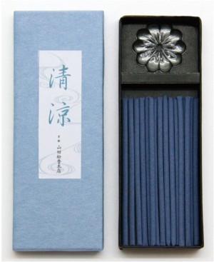 """Аромапалочки """"Сандал"""" с подставкой Rakuen Cool Incense Stand Set"""