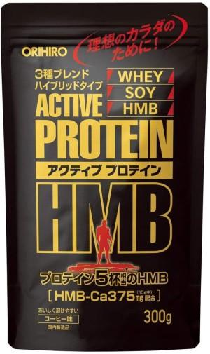 Протеиновый коктейль со вкусом кофе Orihiro Active Protein HMB