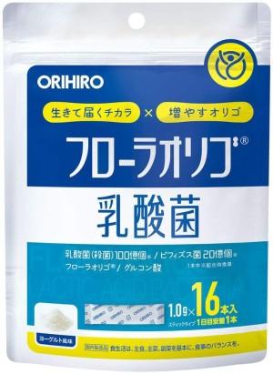 Пробиотик со вкусом йогурта Orihiro Flora Oligo Lactic Acid Bacteria