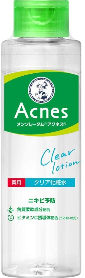 Лечебный лосьон против акне Rohto Mentholatum Acnes Medicinal Clear Lotion
