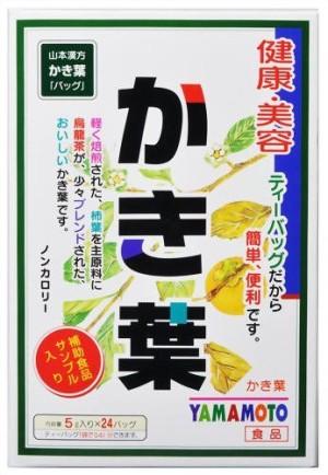 Чай из листьев хурмы Yamamoto Kanpo Diospyros Kaki Leaves