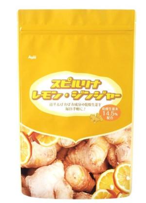 Комплекс со спирулиной, лимоном и имбирем для укрепления иммунитета в период сезонных заболеваний Spirulina Lemon Ginger Algae