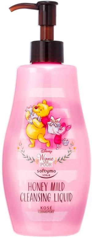 Средство для демакияжа с медом Kose Softymo Mild Cleansing Honey Liquid