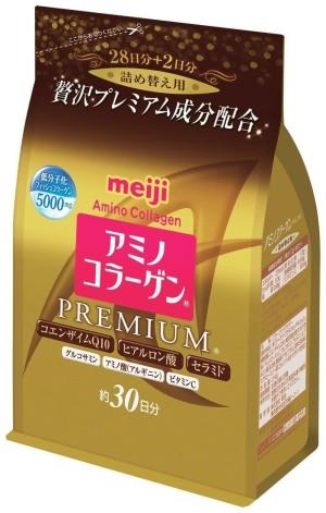 Амино-коллаген Meiji Premium в мягкой упаковке