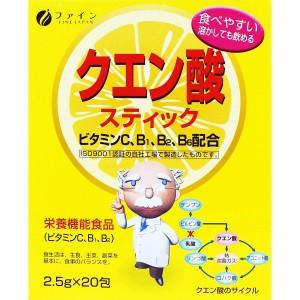 Комплекс с витаминами С и В Fine Japan Citric Acid