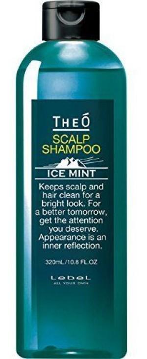 Мужской шампунь c ледниковой водой Lebel Theo Scalp Shampoo Ice Mint