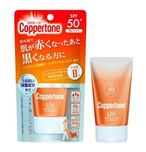 Солнцезащитный крем-гель с экстрактом алоэ Taisho Coppertone Perfect UV Cut Gel Cream Ⅱ